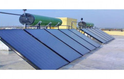 Industrial Solar Water Heater by RD Solar Solution & Installation Private Limited