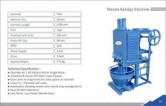 Masala Kandap Machine by Dharti Industries