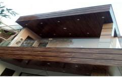Merino Cladding Wall by S L Interior LLP.