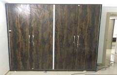 Modern Wooden Wardrobe by Nectar Modular Kitchen