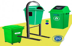 Plastic Rubbish Bin by Mars Traders - Suppliers Professional Cleaning & Garden Machines