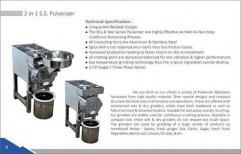 Pulveriser Machine by Dharti Industries