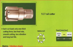 Rail Hole Cutter TCT 13 To 24mm by Kwality Era India Private Limited