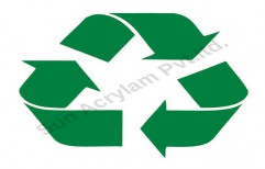 Recycle Stencil by Sun Acrylam Private Limited