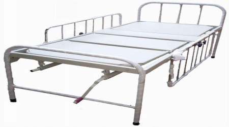 Semi Fowler Bed with railing by Chamunda Surgical Agency