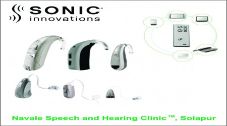 Sonic Innovations Hearing Aid by Navale Speech & Hearing Clinic