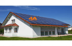 Sukam Solar Power System for Rooftop 0.3 KWp by 4 A Technologies