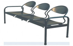 Three Seater Waiting Chair by I V Enterprises