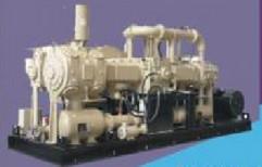 Vertical Air Compressor by Hind Pneumatics