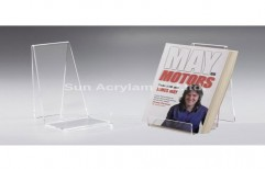 Acrylic Book Stand by Sun Acrylam Private Limited