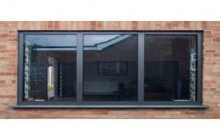 Aluminium Pe Coated Aluminum Sliding Window, For Commercial,Residential