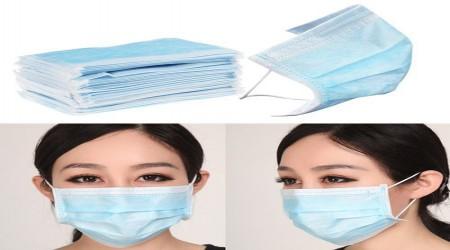 Blue Disposable Mask by Sun Distributors