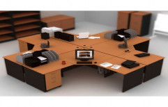 Commercial Office Workstation by Raaghavi Associates