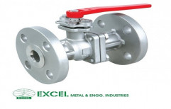Flanged Ball Valve by Excel Metal & Engg Industries