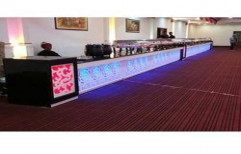 Hotel Buffet Counter by M. Decorators