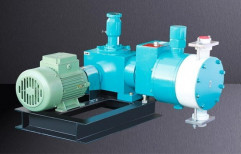 Hydraulically Actuated Diaphragm Dosing Pump by Mach Power Point Pumps India Private Limited