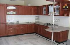 L Type Modular Kitchen by Elements