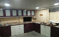 Modular Kitchen Interior by Four Corner's Interiors