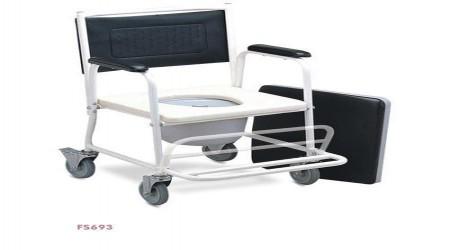 Portable Commode Wheelchair by Jeegar Enterprises