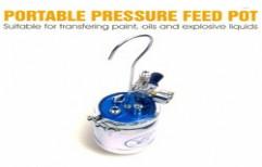 Portable Pressure Feed Pot by National Enterprises