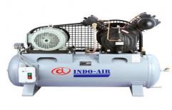 Reciprocating Medium Pressure Air Compressor by Hind Pneumatics
