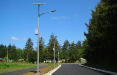 Solar LED Street Light by Nine Star Systems