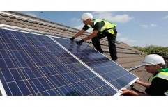 Solar Panel Installation Services by Thejas Solar And Power Solutions