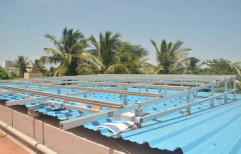 Solar Panel Mounting Structure by Green Field Solar Solution Private Limited