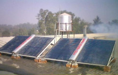 Solar Water Heater 1000 LPD by Radha Energy Cell