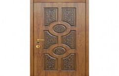 Teak Wood Carving Door by Smart Interiors