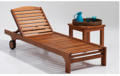 Teak Wood Loungers by Ananya Creations Limited
