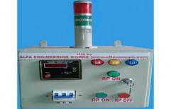 Vacuum Pump Control Panel with Pirani Guage by Alfa Technovac Llp