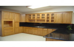 Wooden Kitchen Cabinet by S.S Decors