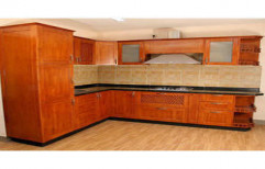 Wooden Modular Kitchen by Hind Traders And Steel Works