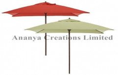 Wooden Umbrella by Ananya Creations Limited