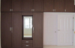 Wooden Wardrobe by S.S Decors