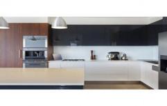 Acrylic Modular Kitchen by Mahadev Kitchen Point