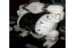 Air Operated Diaphragm Pump by Plastico Pumps