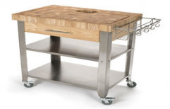 Commercial Kitchen Trolley by Four Corner's Interiors