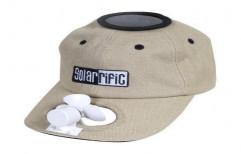 Cotton Custom Solar Powered Fan Cap by Multi Marketing Services