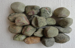 Forest Green Pebbles by Priyanka Construction