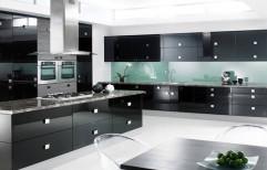 High Gloss Kitchen Cabinet by Raaghavi Associates