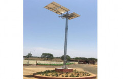 High Mast Solar Street Light by Mss Technology