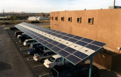 Hybrid Solar Power Plant by RayyForce