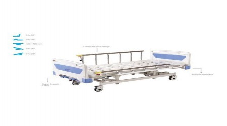 Hydraulic Hi Low ICU Bed by Innerpeace Health Supports Solutions