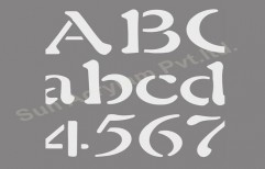 Lettering Stencils by Sun Acrylam Private Limited