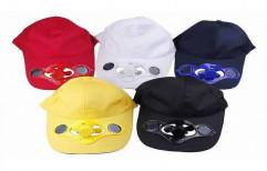 Multi Color Solar Cap by Multi Marketing Services