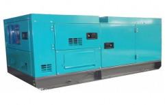 Silent Diesel Generator Set by Rajat Power Corporation
