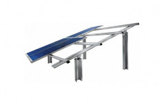 Solar Panel Mounting Structure by Cohort Overseas Private Limited