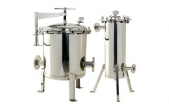 SS Bag Filter Housing by Sanipure Water Systems